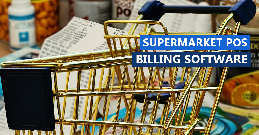 Supermarket POS Billing Software