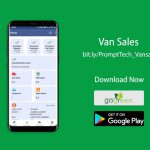 PromptTech Van Sales App for Delivery Vans