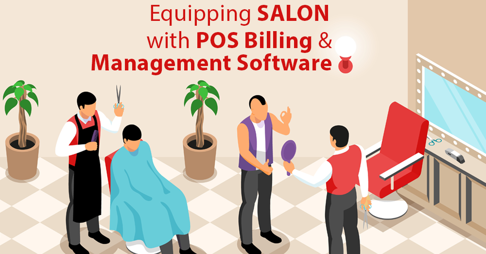 Equipping Salon with POS Billing and Management Software
